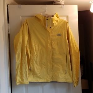 The North Face Size M Yellow Rainjacket